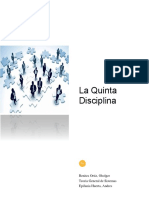 La Quinta Disciplina - Oholger Benites Ortíz