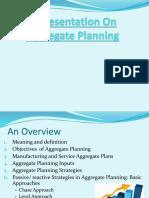 POM Aggregate Planning