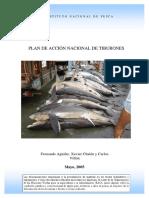 Plan de acción de tiburones