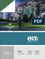 201909 Elt Catálogo Alumbrado Técnico Corriente Constante 2019 2020