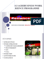 Tau 413 Agribusiness Work Experience Programme [0+7