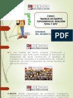 CLASS 1 Manejo de Equipos Topograficos