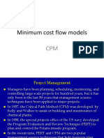 PERT and CPM Models