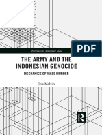 (Rethinking Southeast Asia) Jess Melvin - The Army and the Indonesian Genocide_ Mechanics of Mass Murder-Routledge (2018)