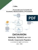 Manual Técnico Datavixon Scp v3