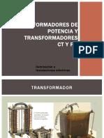Transformadores CT'S y PT'S