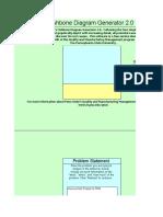 Fishbone Diagram Template 03