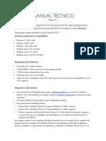 Manual Tecnico Analisis Lexico c#
