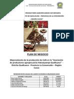 Hatunpampa Quellouno Pdn - Café Mod