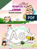Abacedario Grafomotorr Cesar Benavides