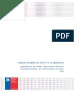 Manual Servicio de Bienestar 2019