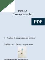 Forces Pressantes