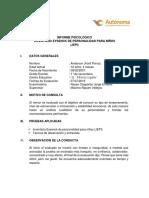 Jorge Informe Psicológico-eysenck Niños