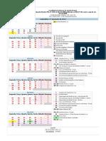 Calendario Academico 2019 2sem Facisa