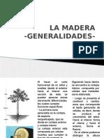 La Madera Generalidades