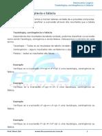 Aula 15 - Tautologia, contigencia e falacia.pdf
