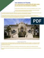 Mansión Estilo Barroco Italiano en Florida-
