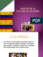 Analisis de La Cultura de Colombia