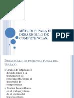 Métodos Para El Desarrollo de Competencias