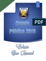 Cuenta Publica 2018