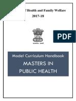 MPH-Model Course Curriculum