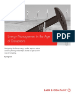 BAIN BRIEF Energy Management in the Age of Disruptions