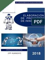 manual de proyecto de innovación