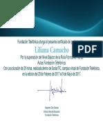 Certificado Scolar Tic
