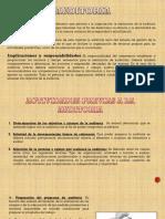 Auditoria e Inspeccion
