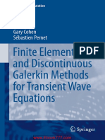 FE and discontinuous Galerkin Methods for transient wave equations - Gary Cohen Sebastien Pernet.pdf