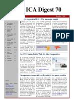 ICA Digest 70 - Edición en Español