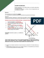 Guía de Trabajo Equilibrio de Mercado 1 (1)