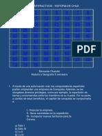 Ejercicios Interactivos Historia de Chile