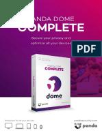 Panda Dome data sheet