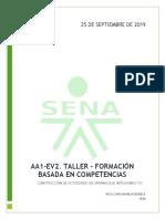 Evidencia a1 - Formacion Basadaen Competencias