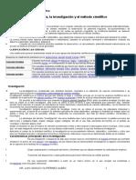 Ciencia Investigación y Método Científico (1)