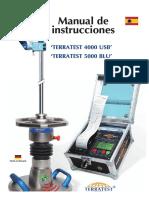 Manual Terratest Deflectometro