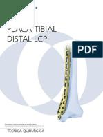 Tecnica Quirurgica Placa Anatomica Distal Medial de Tibia