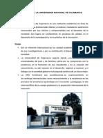 Misión y Visión de La Universidad Nacional de Cajamarca