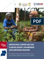 Coffee Sector Climate Smart Awareness and Decision Making