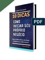 10 dicas de negocios