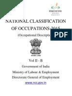 National Classification of Occupations_Vol II-B- 2015.pdf