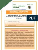 MONOGRAFICO_CREI_num 6_Manuales teóricos para trabajar con alumnado de diversidad cultural