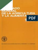 Organización de Las Naciones Unidas Para La Agricultura, La Alimentación. (1991).