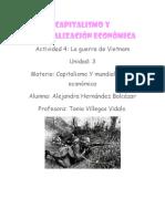 Capitalismo y Mundialización Económica