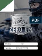 SIMULADO PCDF 2019