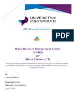 Retail Business Management System