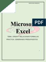 06.- GENERANDO PRESUPUESTOS