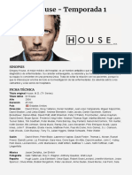 Dr House - Temporada 1