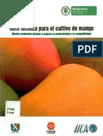 Guía técnica para el cultivo del mango